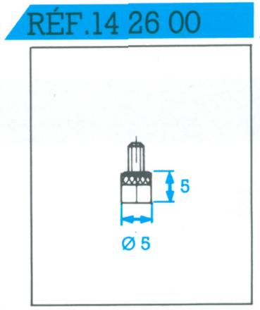 Palpeur acier plat 5