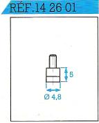 Palpeur carbure 4