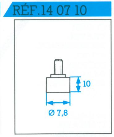 Palpeur droit 10