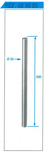 colonne entre pointe 20